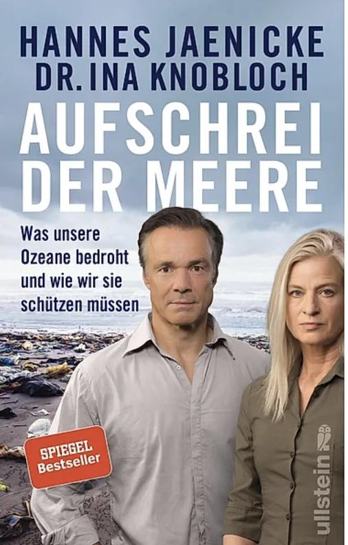 Cover Aufschrei der Meere von Hannes Jaenicke und Dr. Ina Knobloch