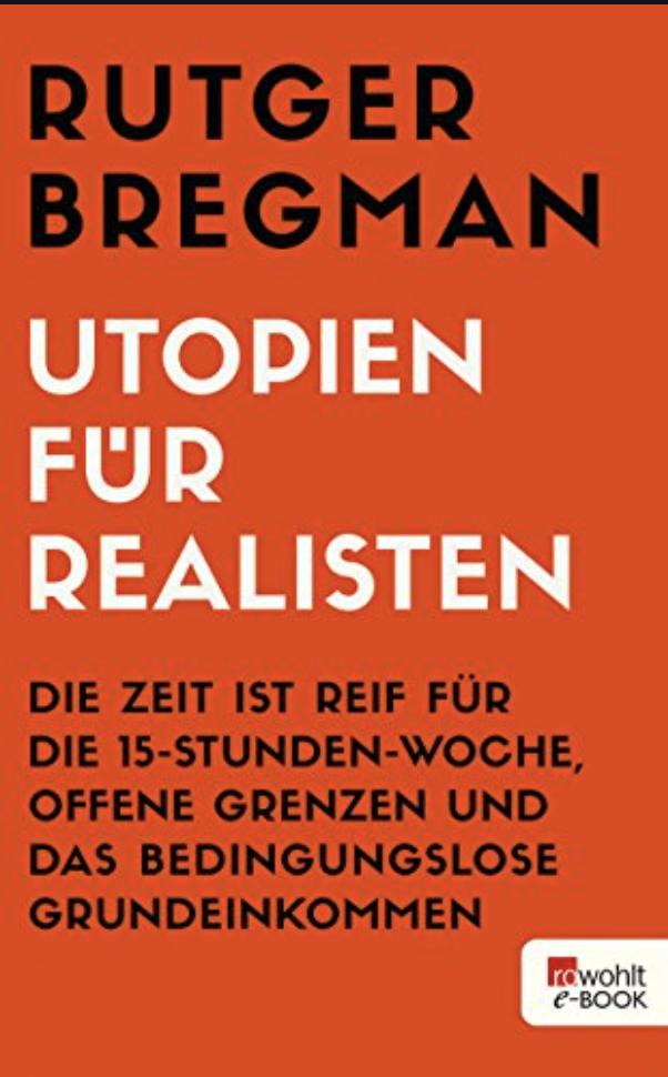 Utopien für Realisten Cover