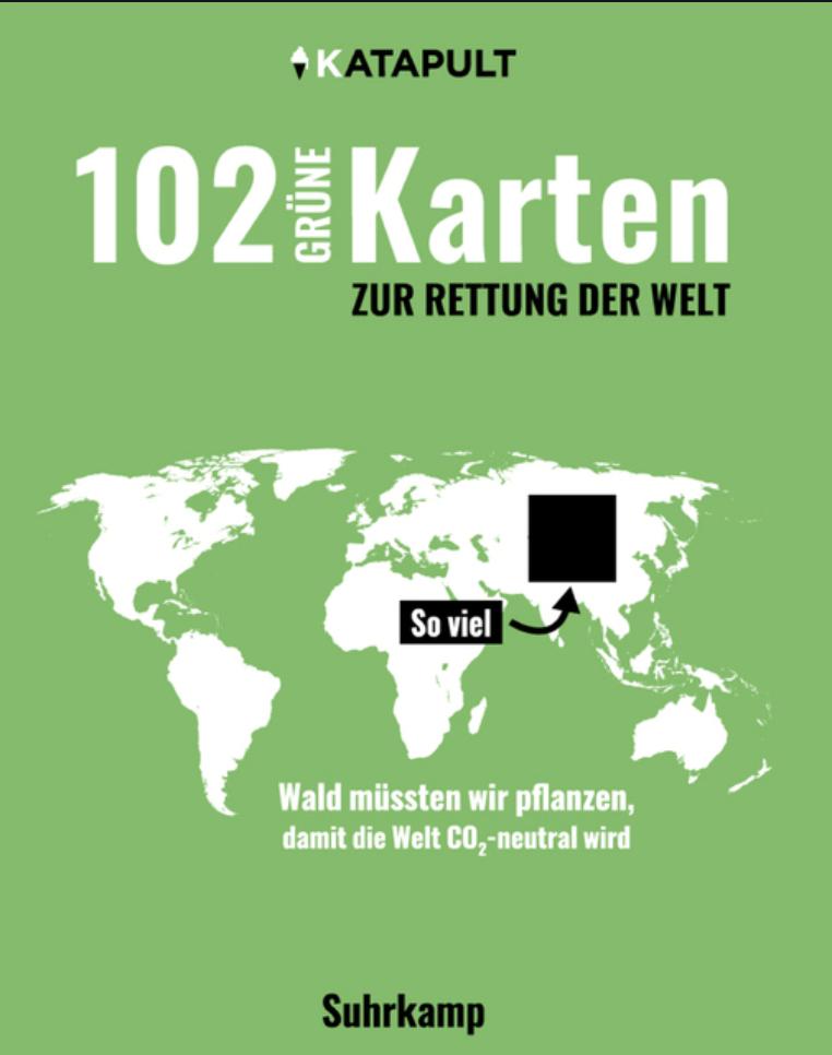 102 grüne Karten zur Rettung der Welt vom Katapult Verlag Cover