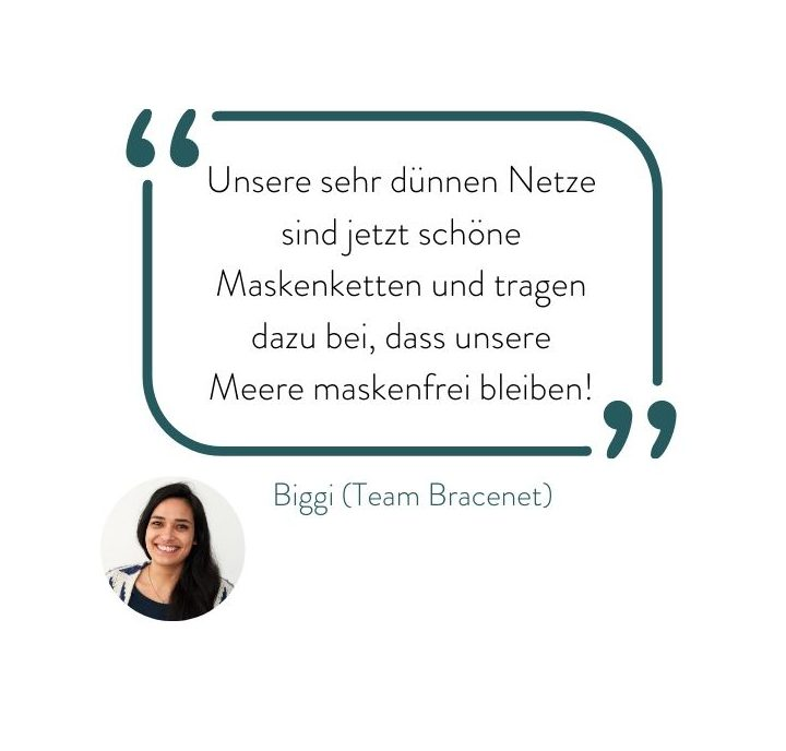 Statement Maskenkette Team Bracenet
