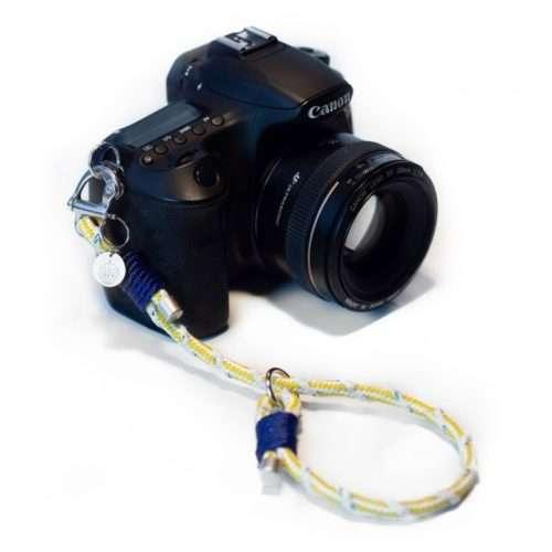 Bracenet Kameraschlaufe grün