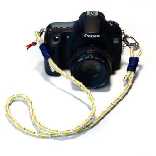Kameraband Yellow Sea mit Kamera