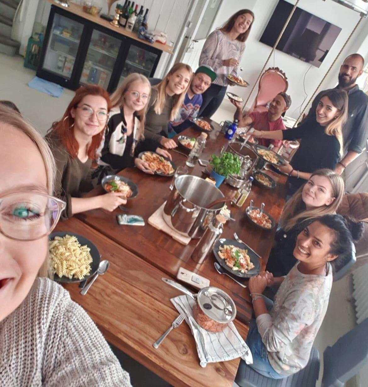 bracenet team lunch