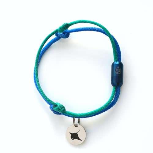 Galapagos Bracenet mit Manta tag