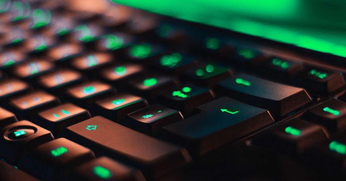 tastatur-grünes-licht